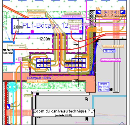 Keolis – Électrification d'un dépôt bus / Vélizy-Villacoublay / Mission DCE