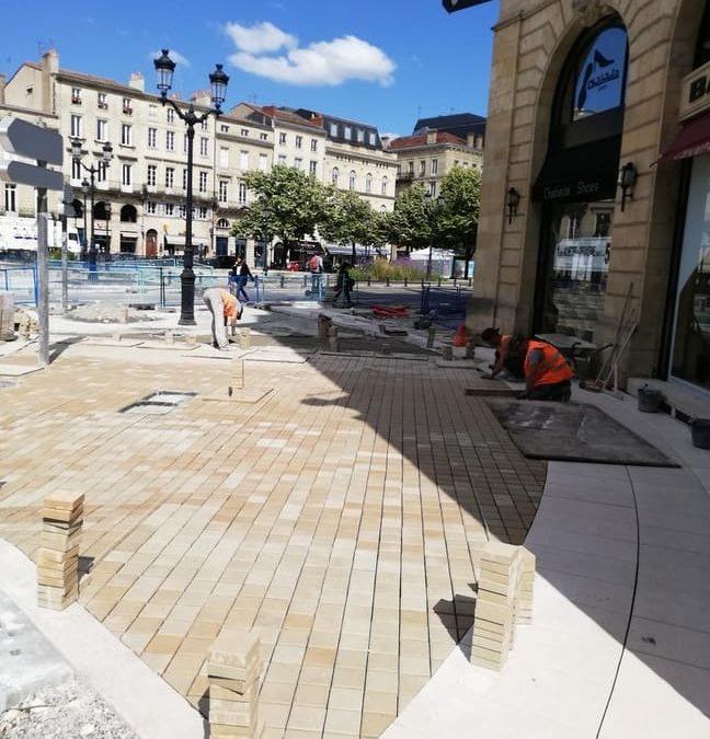 Réaménagement de la Place Tourny à Bordeaux