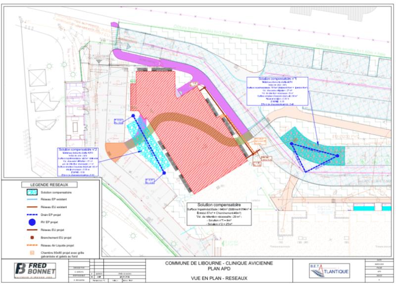 Libourne / Colisee Groupe - Extension de la clinique Avicenne / Mission Complète