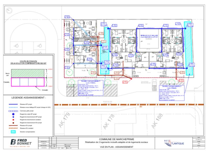Marcheprime / Domofrance - Construction de logements sociaux et inclusifs / Mission complète