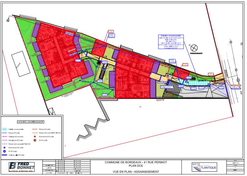 Création de 15 logements collectifs ruePérinotà Bordeaux.